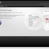 Sony cashback Webdesign by Jonas Lundman