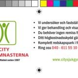 Printed advertisements by Jonas Lundman