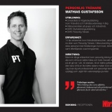 Promoting personal trainers indoor and online by Jonas Lundman