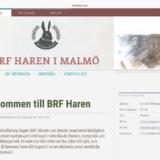 BRF Haren webpage